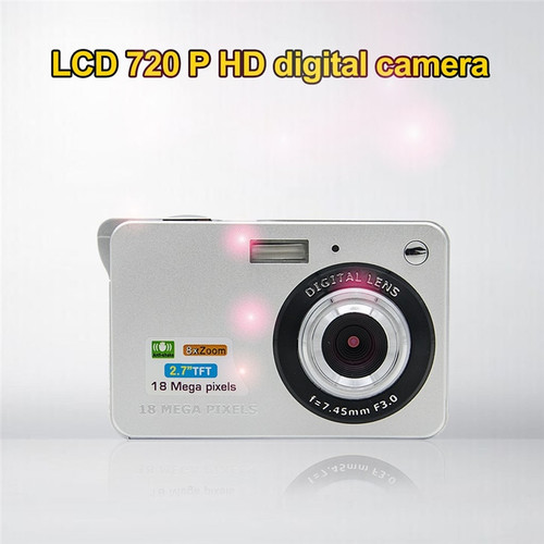 Advanced 2018 New Digital Camera 18 Mega Pixels 3.0MP CMOS sensor 2.7 inch TFT LCD Screen HD 720P Digital Camera