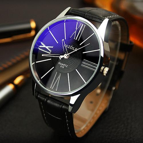 Mens Watches Top Brand Luxury 2018 Yazole Watch Men Fashion Business Quartz-watch Minimalist Belt Male Watches