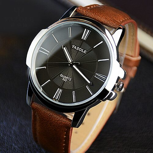 2018 Wristwatch Male Clock Yazole Quartz Watch Men Top Brand Luxury Famous Wrist Watch Business Quartz-watch Relogio Masculino