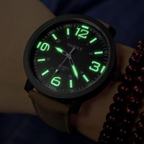 YAZOLE Luminous Wrist Watch Men Watch Sport Watches Luxury Men's Watch Men Clock erkek kol saati relogio masculino reloj hombre