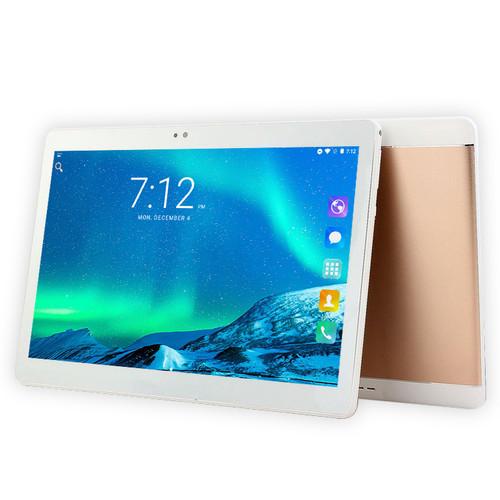 CIGE Octa Core 10.1 Inch Tablet PC Android 7.0 Octa Core 4GB RAM 64GB ROM Dual SIM 5.0MP GPS 1920*1200 IPS Tablets WiFi GPS FM