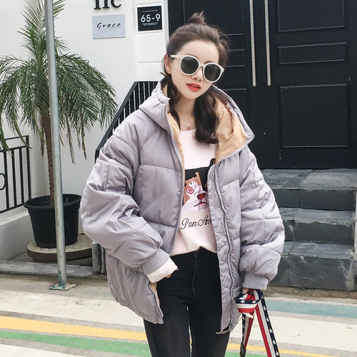 Fitaylor Hooded Black Winter Jacket Women 2018 Loose Plus Size Casual Long Padded Parka Mujer Thick Warm Cottom Coat Female