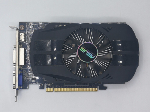 Used,2PCS/LOT ASUS GTX 750 1G DDR5 128bit  HD video card,100% tested good!