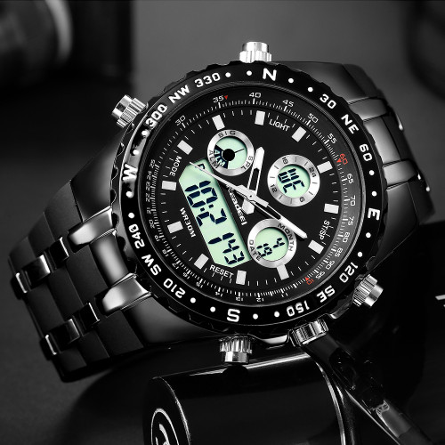 Readeel Mens Watches Top Brand Luxury Waterproof Led Digital Quartz Watch Man Sport Wrist Watch Men Waterproof Led Clock Male