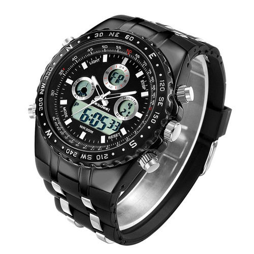 Men's Watches Top Brand Luxury Waterproof Led Digital Quartz Watch Men Sport Wrist Watch Waterproof Clock Male Relojes READEEL