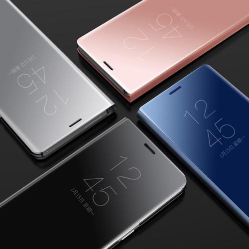 Mirror Clear View Smart Case For Samsung Galaxy J3 J5 J7 Pro Prime On5 On7 2016 2017 Flip Cover For Samsung J3 J4 J6 J7 J8 2018