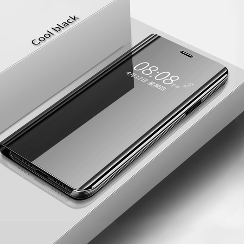 Mirror Filp Stand For Samsung Note 9 Cover Luxury Protection For Samsung Galaxy Note 8 Cover Phone Case Note 9 Black