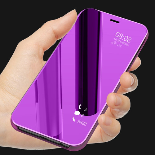 Luxury Plating Mirror Flip Case For Samsung Galaxy A6 A6Plus 2018 For Galaxy J4 J6 J8 2018 Full Cover Protector Shockproof Cases