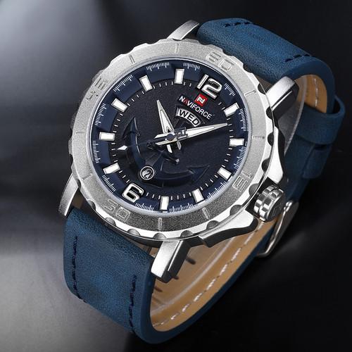 NAVIFORCE Men Watches Analog Date Clock Quartz Watch Men Army Military Wristwatch Luxury Brand Men Sport Wristwatches Relogio