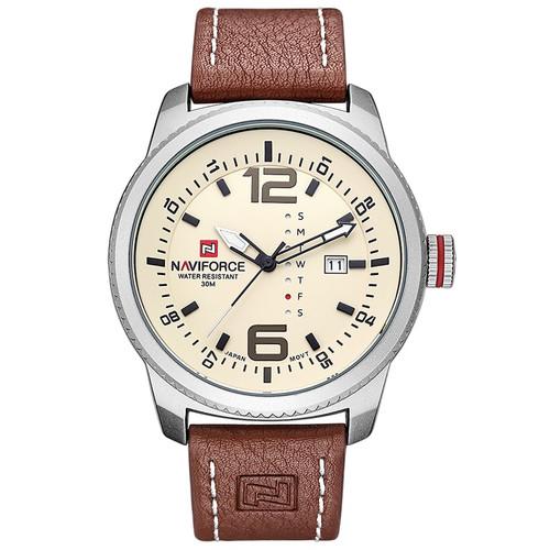 2017 Luxury Brand NAVIFORCE Men Military Sports Watches Men's Quartz Date Clock Man Casual Leather Wrist Watch Relogio Masculino