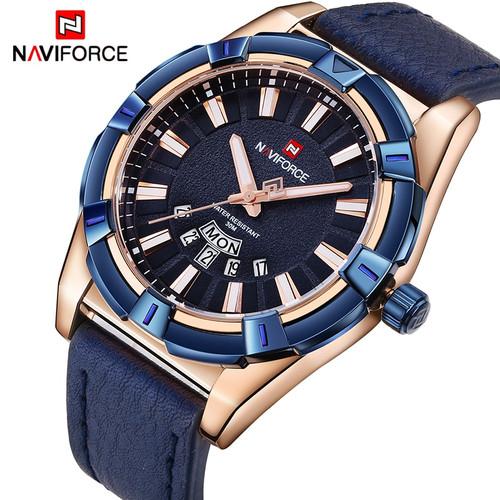 2018 NEW NAVIFORCE Luxury Brand Men's Quartz Watches Men Fashion Casual Leather Sports Watch Man Date Clock Relogio Masculino