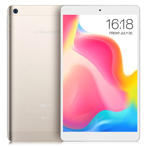 Teclast P80 Pro Tablet PC 8.0 inch Android 7.0 MTK8163 Quad Core 1.3GHz 2GB RAM 16GB eMMC ROM Double Cameras Dual WiFi HDMI