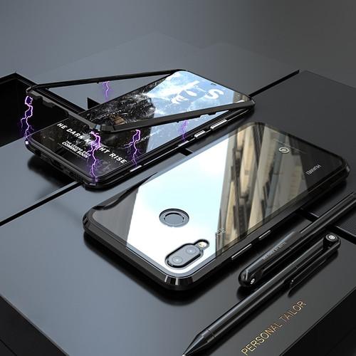 Luxury Magnetic Case For Huawei Nova 3 3i P20 Pro Metal Bumper Magnets Glass Cover For Case Huawei Nova 3i Case Nova3i Nova3