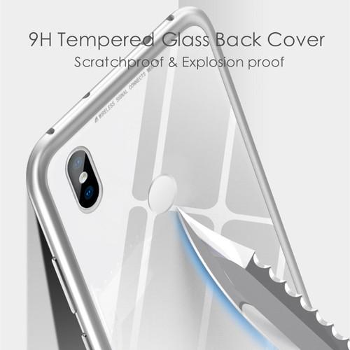 360 Magnetic Adsorption Case for Xiaomi Mi 8 Case Mi 8 SE Full Cover Luxury Magnet Tempered Glass Case for Xiaomi Mi 8 SE Case