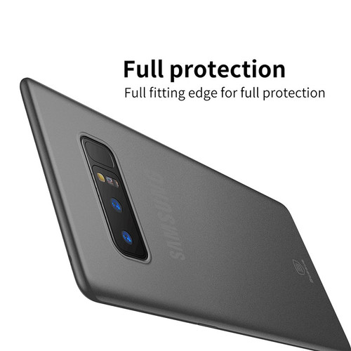 Baseus Ultra Slim Phone Case For Samsung Note 8 Full Protector Cover For Samsung Galaxy Note 8 Coque Soft Thin Case