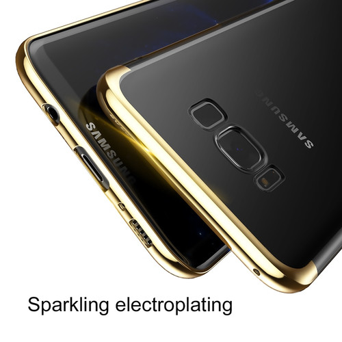 Baseus Plastic Case For Samsung Galaxy S8 S7 Edge Luxury Plating Hard PC Phone Case For Samsung Galaxy S8 S8 Plus S7 Edge Cases