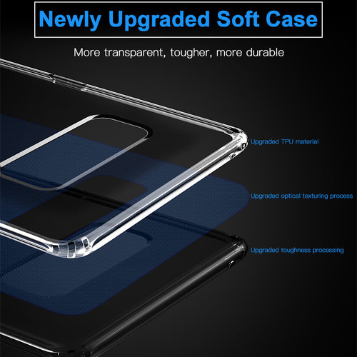 Baseus Clear Case For Samsung Galaxy Note 8 Note8 Ultra Thin Transparent Soft TPU Silicone Cover For Galaxy Note 8 Coque Capinha