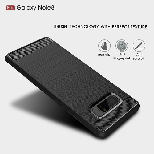 For Samsung Galaxy Note 8 Case Note 8 Cover Luxury Silicone Carbon Fiber Case For Samsung Note 8 Case Note 9 Case S8 S9 Plus TPU