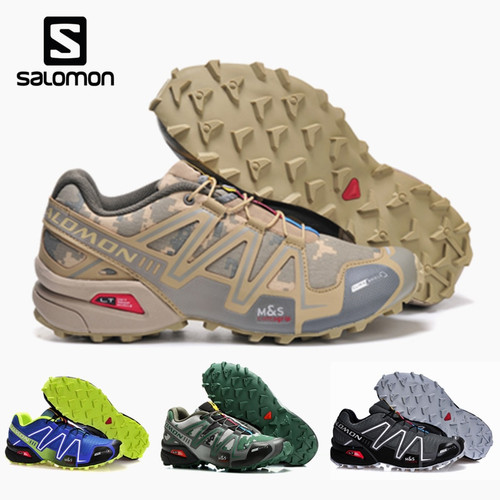 Salomon Speed Cross 3 CS Men Outdoor Sport Shoes Breathable Sneakers zapatillas Hombre  Male Speedcross 3 Fencing Shoes