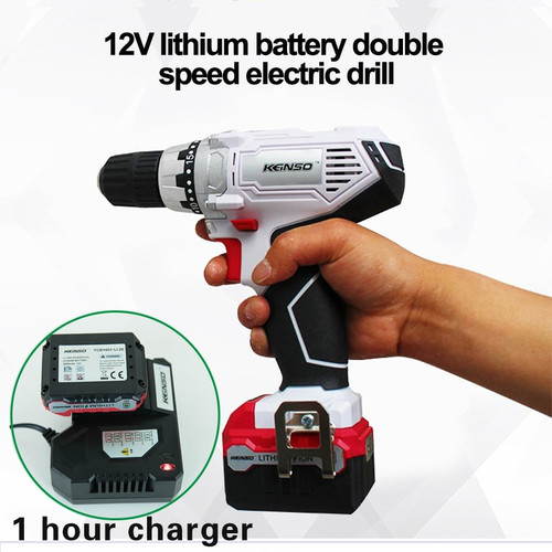12V power tools electric Drill Electric Cordless Drill Screwdriver Mini Drill electric drilling with lithium battery