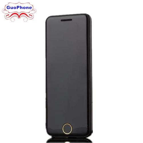 "ULCOOL V6 V66 Phone With Super Mini Ultrathin Card Luxury MP3 Bluetooth 1.67""inch Dustproof Shockproof phone"
