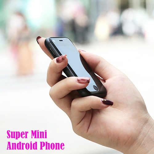 Super Mini Smartphone Android Smart Phone Original SOYES 7S 6S Quad Core 1GB+8GB 5.0M Dual SIM Mobile Cell Phones free case gift