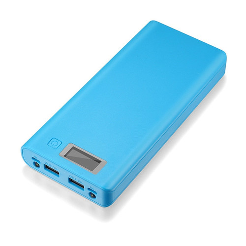 Rovtop Hot sale 5V Dual USB 8*18650 Power Bank Battery Box Mobile Phone Charger DIY Shell Case For iphone6 Plus S6 xiaomi