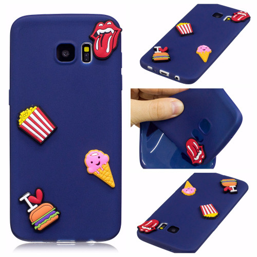 COATUNCLE Soft TPU Case For Coque Samsung galaxy S7 Case 3D Silicon Candy Cartoon Back Cover For Fundas Samsung S7 Edge Case