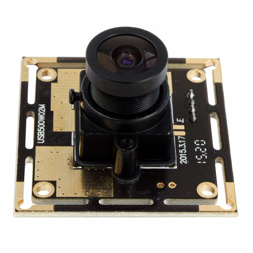 ELP Wide Angle Mjpeg 5megapixel Hd UVC Mini USB Webacm Cam 5MP OV5640 CMOS Camera Module for Robot Vision /Machine Vision
