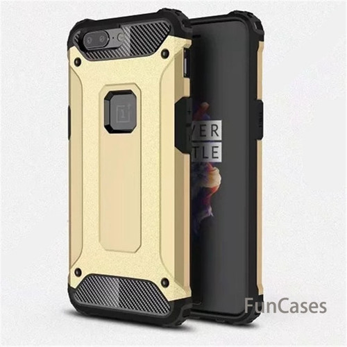 For Oneplus 5 / One plus 5T case Hybrid Slim Rubber Armor case back cover For Oneplus 6 shockproof TPU plastic covers cases