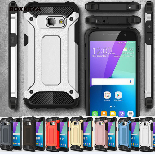 Fashion Tough Armor Case for Samsung Galaxy S9 A6 A8 Plus J1 J2 J3 J5 J7 Duo Pro 2016 2017 J4 J6 2018 Prime Back Cover Case