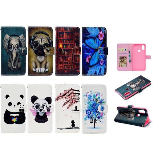 BannerLive Wallet Flip Case for Xiaomi Mi 6X Xiaomi6X Mi6X Cover Fundas Coque Fashion Flower Puppy Butterfly Panda Bear Pattern