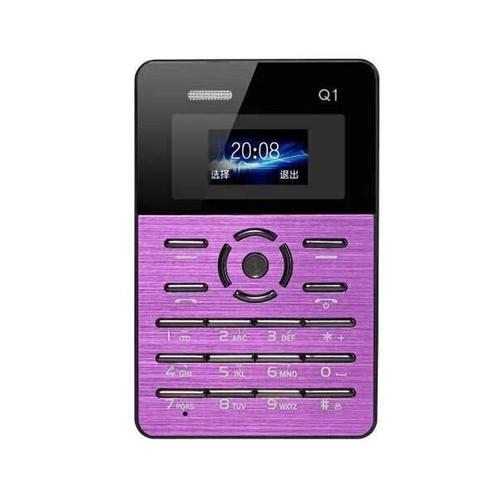 Russian Keyboard Original AEKUQ1 Ultra thin Pocket Card Children Student Mobile Phone MP3 Player FM PK AEKU M5 E1 C6 M3
