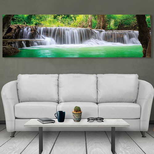 canvas picture art Poster landscape paintings on the wall painting home decoration picture wall art canvas Painting no frame