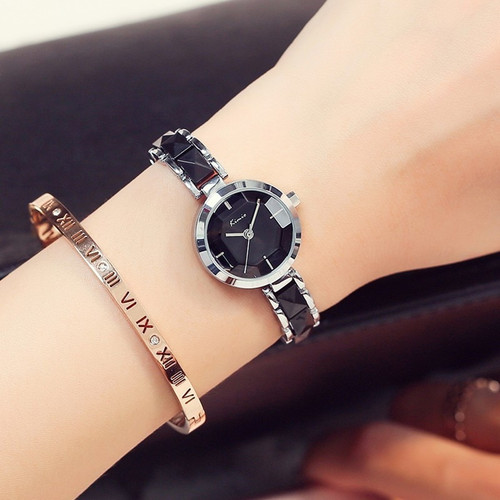 KIMIO Fashion Rose Gold Bracelet Watch Women Quartz Womens Watches Top Brand Luxury Ladies-watch Women's Watches For Women Clock