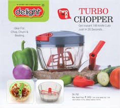 Turbo Chopper Cutter Multi Chopper Tool Kitchen Grater