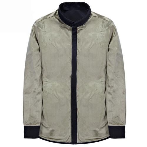 HANQIU Winter Warm Shirts Men Long Sleeve Autumn Winter Men Coat Flannel Thick Dress Shirts Fashion Quality Fleece Men Shirt