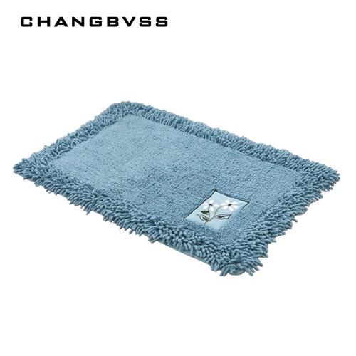 durable bathroom rug set,luxury big size bath tub mat non slip,door bathroom set carpet,bath mats rugs floor,60X90CM, 45X120CM