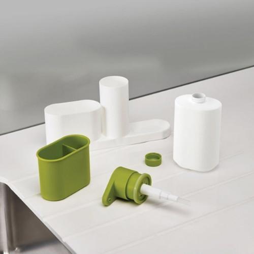 Multifunctional Washing Sponge Storage Sink Detergent Soap Dispenser Storage Rack Hand Sanitizer For Bottle Kitchen Use