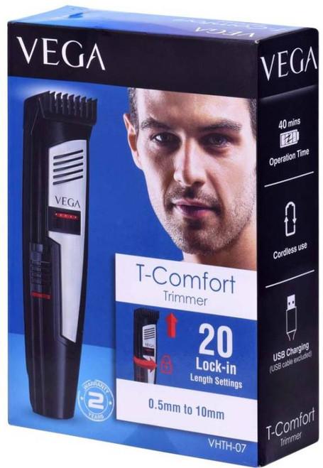 VEGA VHTH-07 T-Comfort Hair Trimmer for Men with 20 Blade Settings