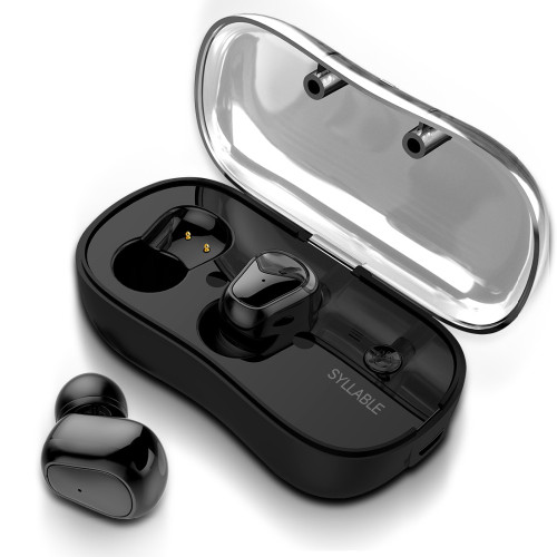 2018 New SYLLABLE D900P Bluetooth V5.0 TWS Earphone True Wireless Stereo Earbud Waterproof SYLLABLE Bluetooth Headset for Phone
