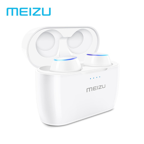 Original Meizu POP TW50 Dual Wireless Earphones Bluetooth Earphone Sports In-Ear Earbuds Waterproof Headset Wireless Charging