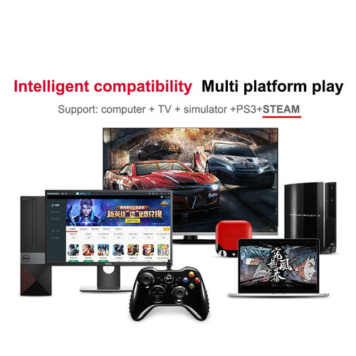 2018 Professional Gamepad For PlayStation3 PC Android Wireless/Wired Game Controller With Joystick For Windows Steam PS3 Pubg