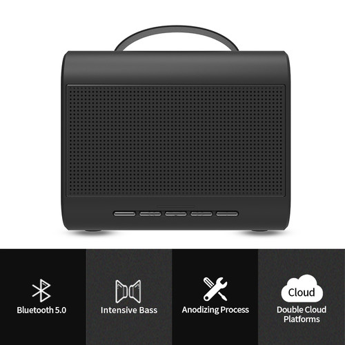Bluedio T Share2.0 Portable Wireless speaker Mini Bluetooth speaker with microphone supported Voice Control loudspeaker