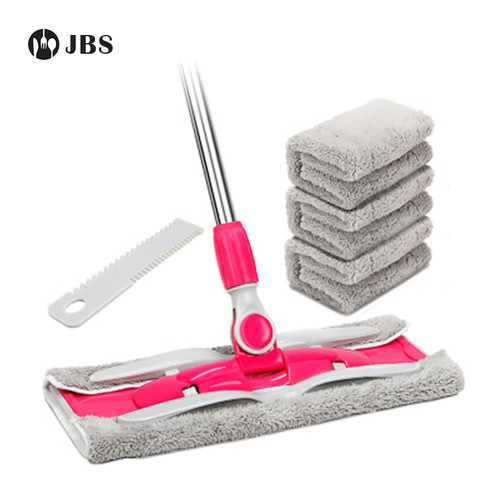 JBS New Free Hand Washing Flat Mop Household Wooden Floor Mop Tile Floor Lazy Dry And Wet Dual Use Replacement Cloth