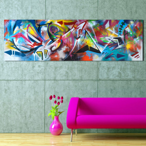 QKART Wall Art Oil Paintings Abstract Picture Dropshipping Canvas Print For Living Room Modern No Frame