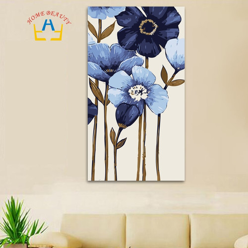 40*80cm large oil painting by numbers coloring drawing wall decor picture paint by number Chinese painting classic craft DY09