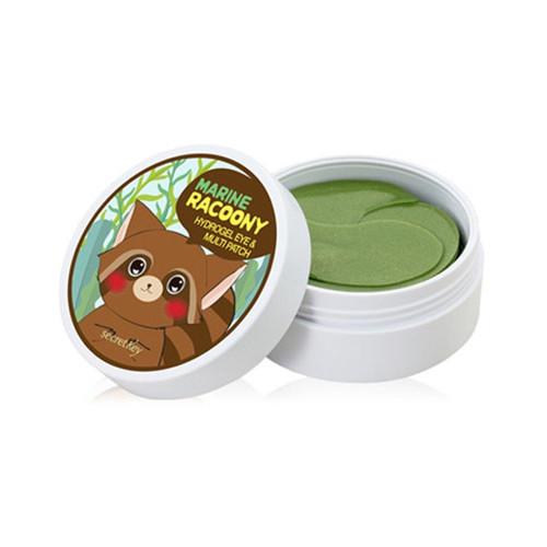 SECRET KEY Marine Racoony Hydrogel Eye & Multi Patch 60pcs Eye Mask Firming Face Skin Care Moisture Whitening Korea Cosmetics