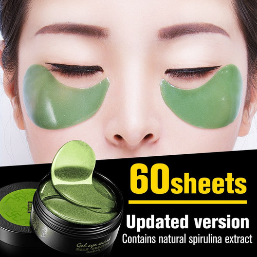 60pcs/Box Collagen Eye Mask Crystal Gel Eye Patches Eye Care Sleep Mask Dark Dircles Remover Anti-age Eye Wrinkle Patch TSLM1