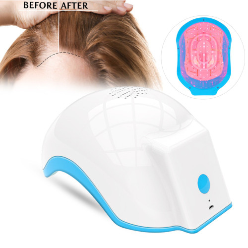 Laser Therapy Hair Growth Helmet Device Laser Treatment Anti Hair Loss Promote Hair Regrowth Laser Cap Massage Equipment